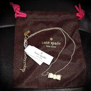 BNWT Kate Spade Moon River Pendant In Cream