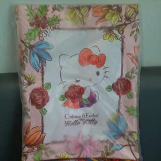 crabtree x Hello Kitty tote bag  #pink flower frame