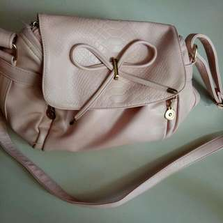 Crossbody Baby pink Bag