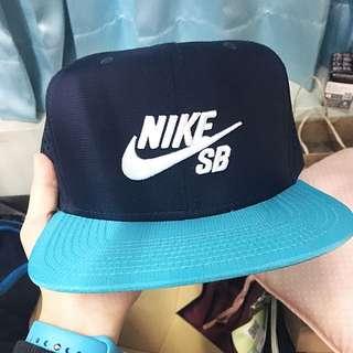 正品 全新 Nike Sb 帽 藍綠 Tiffany綠 後面可調