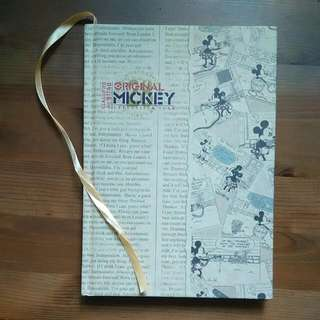 Vintage Mickey Mouse Notebook