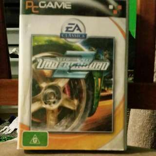 Need For Speed 2 Underground For Pc.