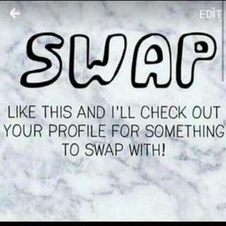 Swaps Now Accepted