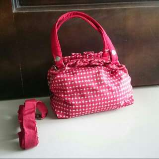 #SemuaRM2 Glitter Red Pouch