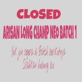 Selling And Open Arisan LONG CHAMP 100% Ori