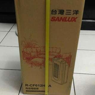 🚚 台灣三洋-陶瓷電暖器(R-CF612HNA)