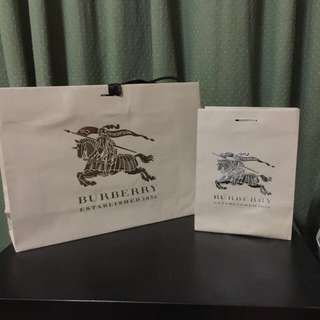Burberry Paper Bags