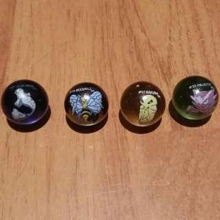 Vintage - RARE - Pokèmon Marbles