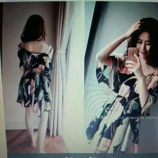 Sunmer Floral Dress