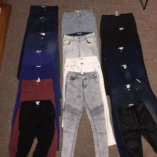 $5 Jeans Bundle ($50 For All) Women's Fashion