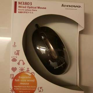 Lenovo Optical Mouse (Brand New)