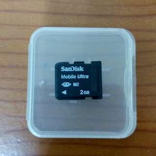 以物易物 交換 M2記憶卡換 microSD卡2G