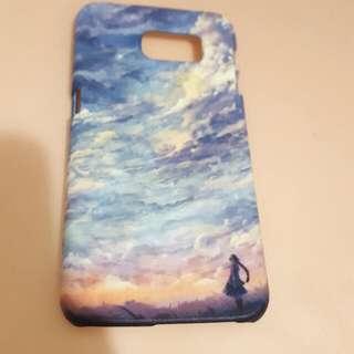 Samsung S6 天空水彩手機殼