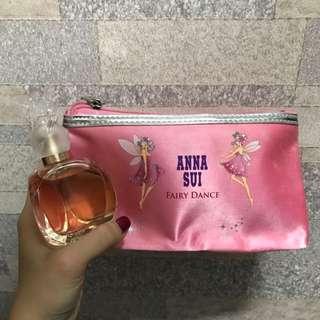 全新 Anna Sui Secret Wish Fairy Dance 50ml香水 連化妝袋 聖誕禮物
