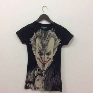 Joker Black Shirt Original Dc Comic