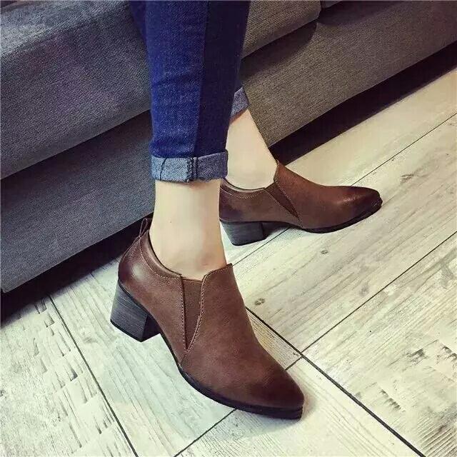 咖啡短靴!39號
