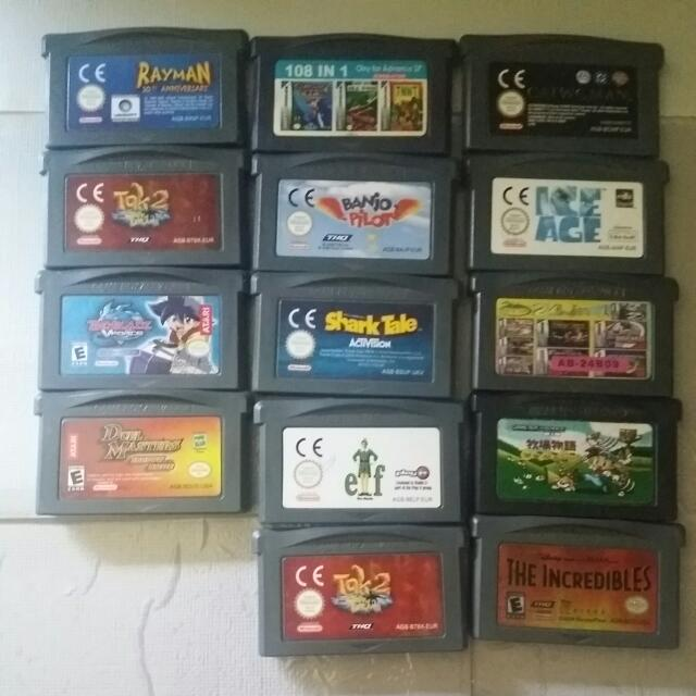 Offer Me A Price. Game Boy Advance Games