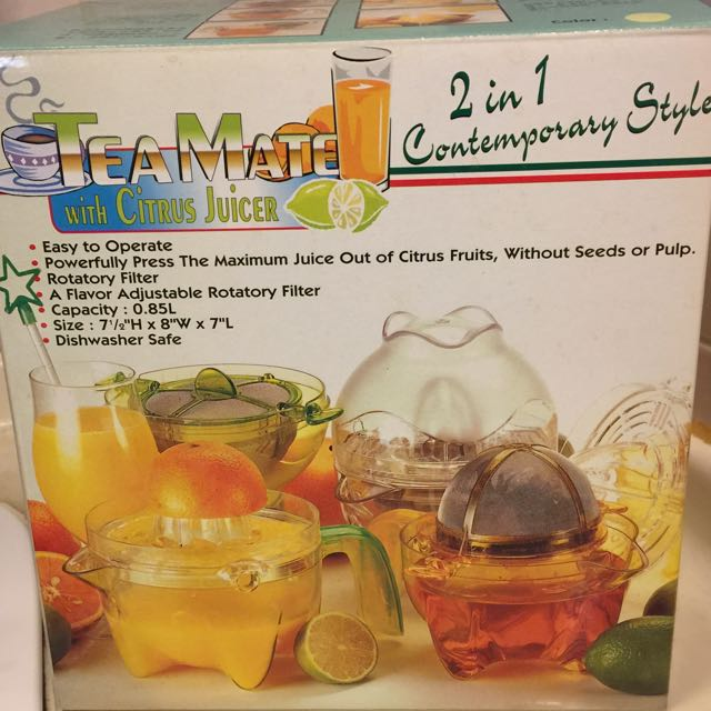 品茶趣多用途調理器(榨檸檬、柳橙汁⋯⋯)(含運)