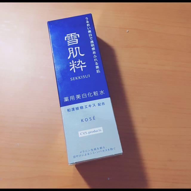 雪肌粹化妝水 日本帶回原價360 清倉
