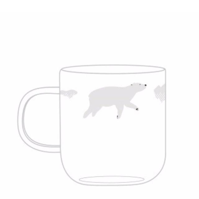 實體照待補-手工玻璃杯 極地北極熊 企鵝 小貓咪 兔子 小鹿 耐高溫玻璃水杯茶杯 聖誕禮物畢業禮物交換禮物