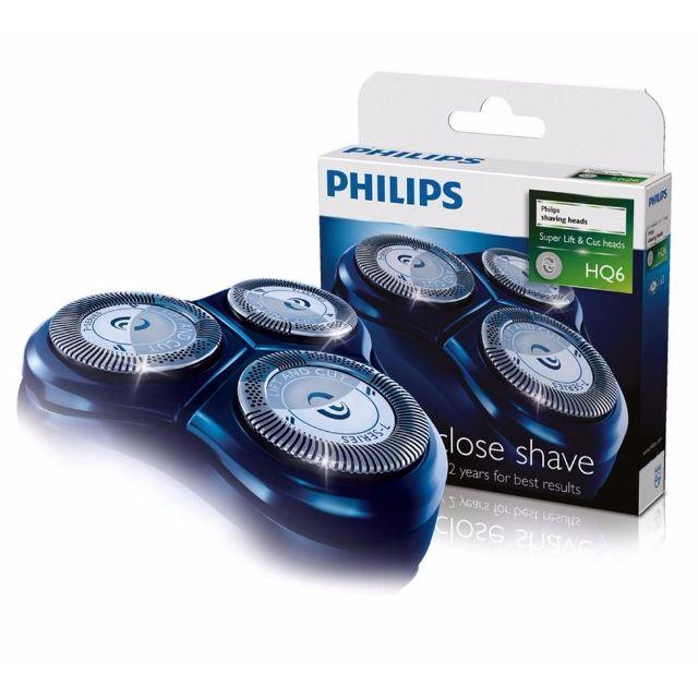 全新免運 PHILIPS飛利浦 (一盒三顆裝)原廠刮鬍刀片刀網組 HQ6/HQ-6~適用HQ662/HQ686