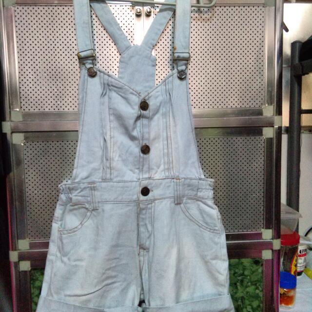 Acid Wash Jumper Shorts