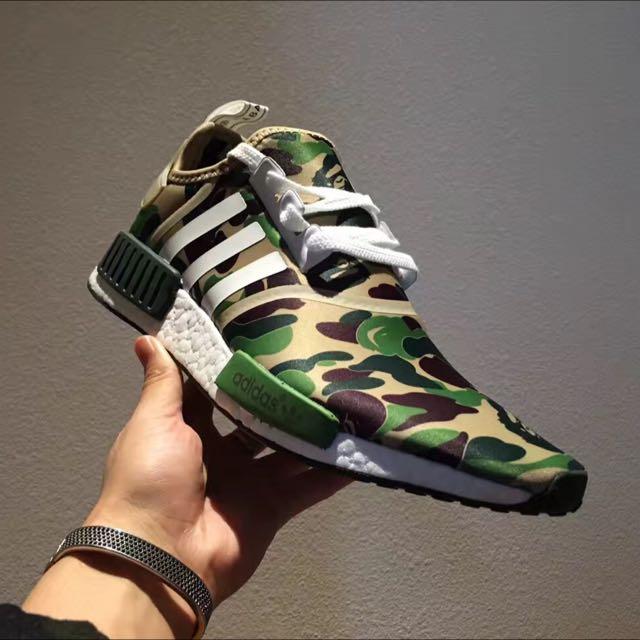 online retailer 86d8e 32901 Adidas NMD X Bape