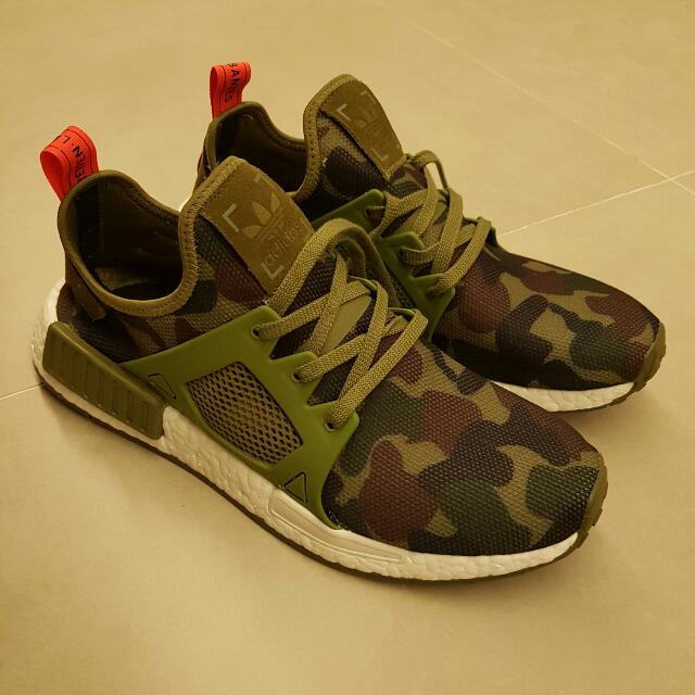 sports shoes ed02d 80b97 ADIDAS NMD XR1 Duck Camo OLIVE GREEN
