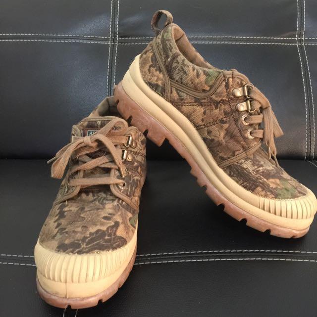 AIGLE 樹葉迷彩 休閒鞋