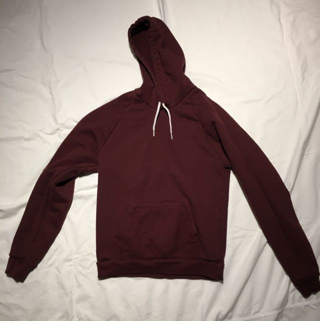 American Apparel Hoodie Size Small