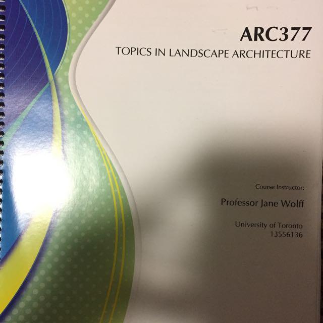 ARC377 Texbook