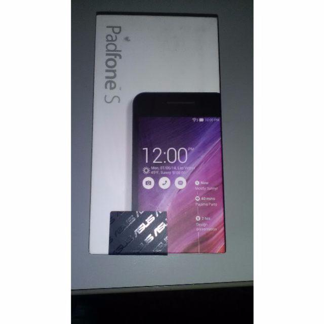 ASUS padfone s ~~☆新機(白色公司貨)華碩平板變形手機 4GLTE~看清楚是最新的支援4G版的(S)喔!!