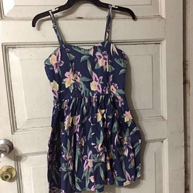 Backsheep Floral Dress