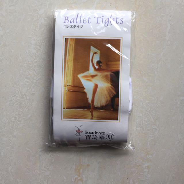 寶琦華Ballet Tights (白色,Size XL)