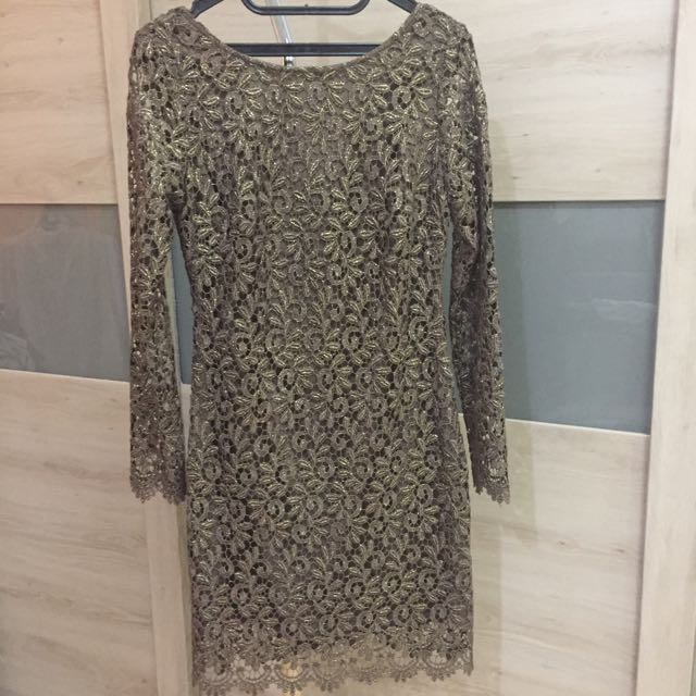 Authentic Bebe Lace Dress