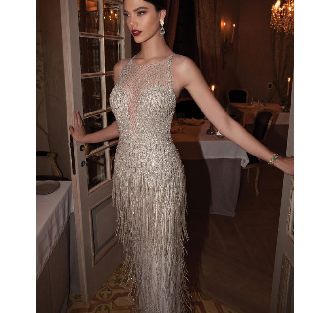 Berta Bridal inspired evening gown. size 2, never worn, Luxury ...