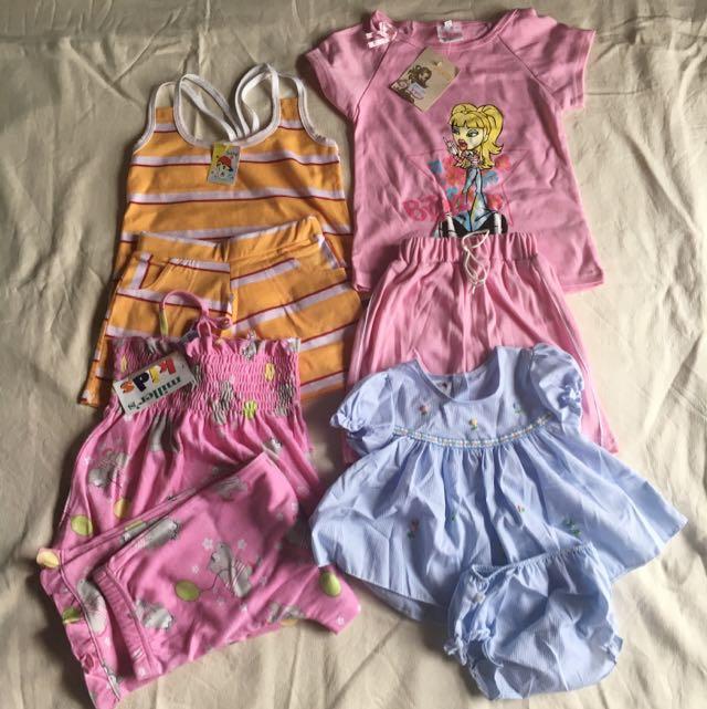 BNWT Girls' 2-piece clothes QUICK SALE!
