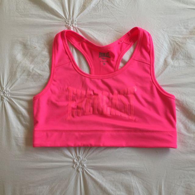 Bright Pink Everlast Sports Crop