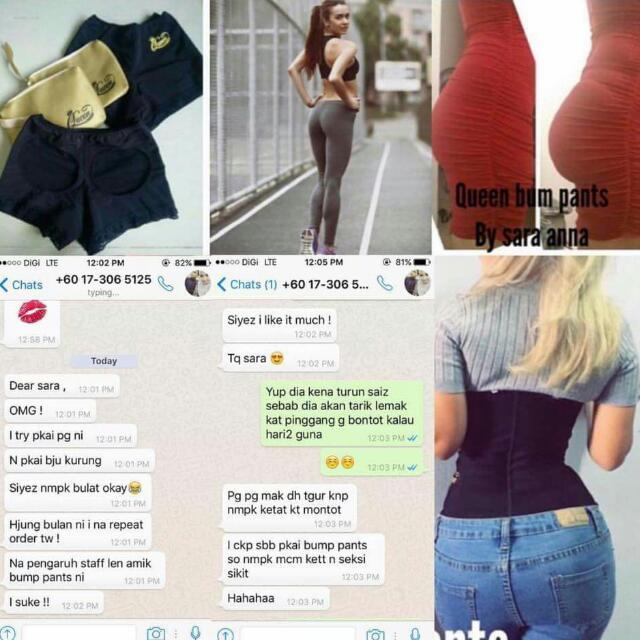 c183414c26dd0 Bump Push Up Pants, Women's Fashion, Accessories on Carousell
