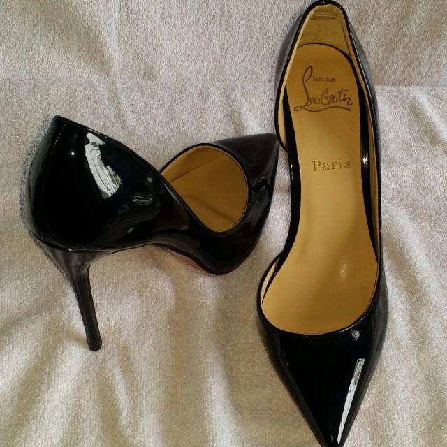 fff64861eeca Christian Louboutin Heels  Decollete 554 85 Patent Patent  Size 37 ...
