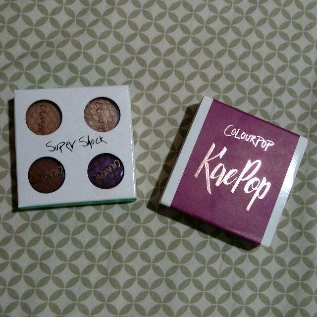 Colourpop KaePop Super Shock Eyeshadows