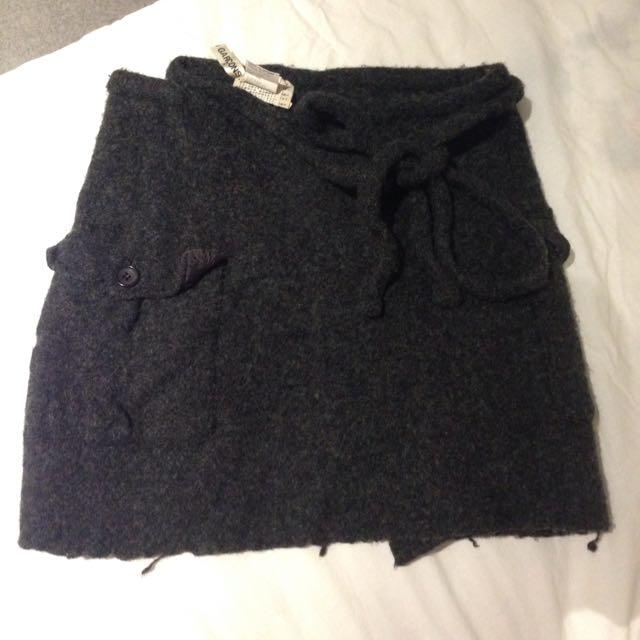 Comme Des Garcon Wrap Skirt