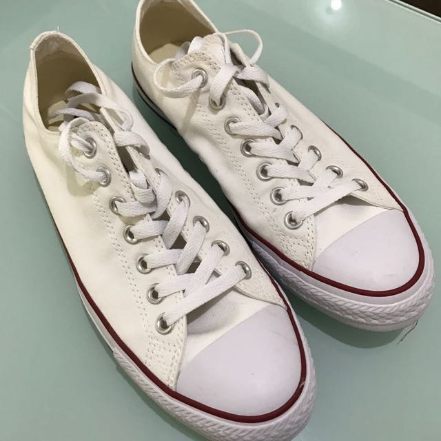 Converse Chuck Taylor All Star Canvas OX Low Cut Sneakers - Putih