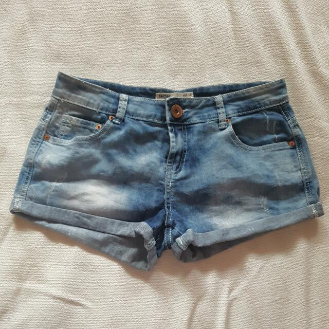 COTTON ON: Faded Denim Shorts