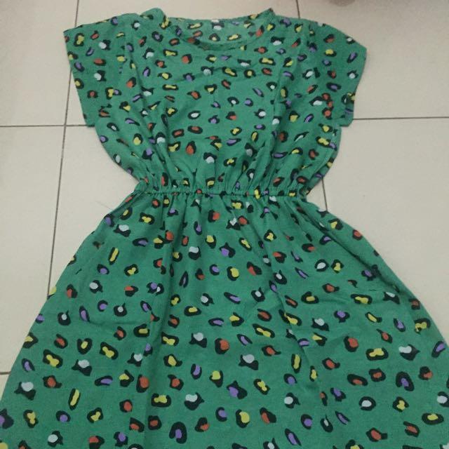 Dress Leopard Ijo