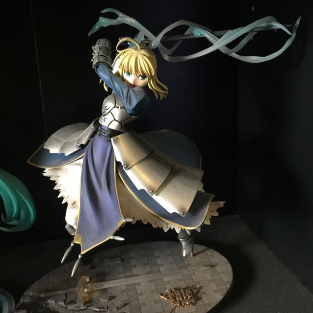 Fate/Stay Night Saber 1/7 Triumphant Excalibur GSC Figure