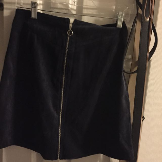 Forever21 Suede Skirt