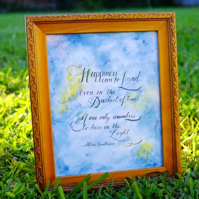 Framed Custom Quote