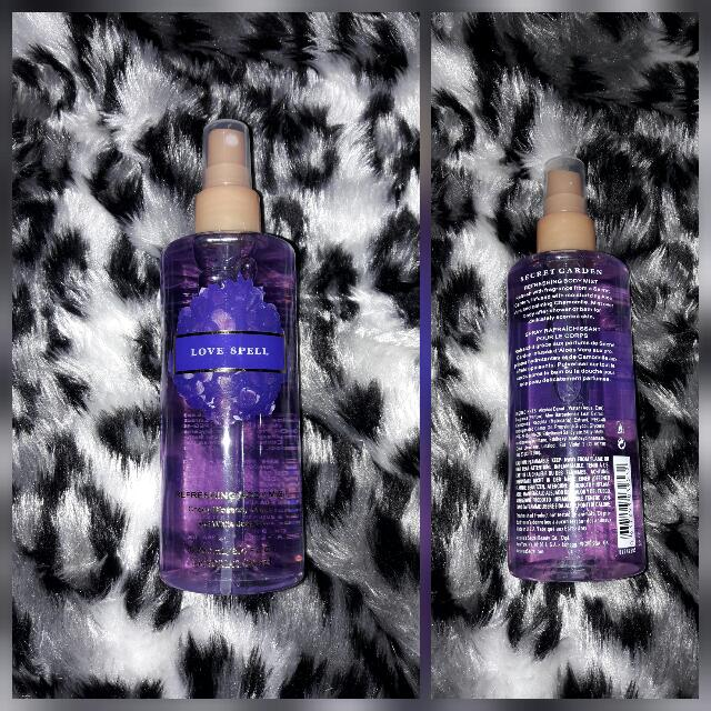 #FreeDelivery ON HAND&ON SALE Victoria Secret LOVE SPELL Refreshing Body Mist