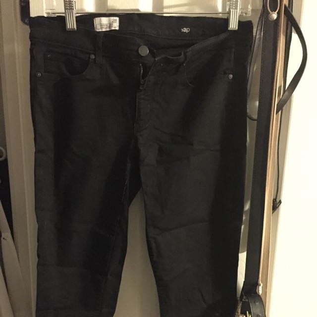 Gap Black Legging Jeans